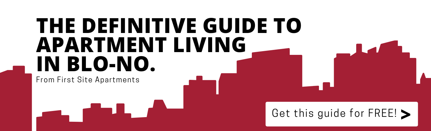 Download the Definitive Guide To Apartment Living In Blo-No