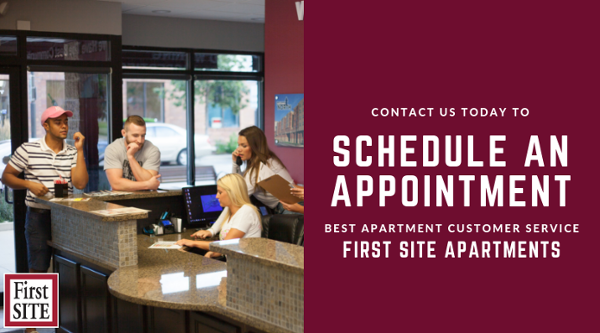 Schedule an appointment with First Site!
